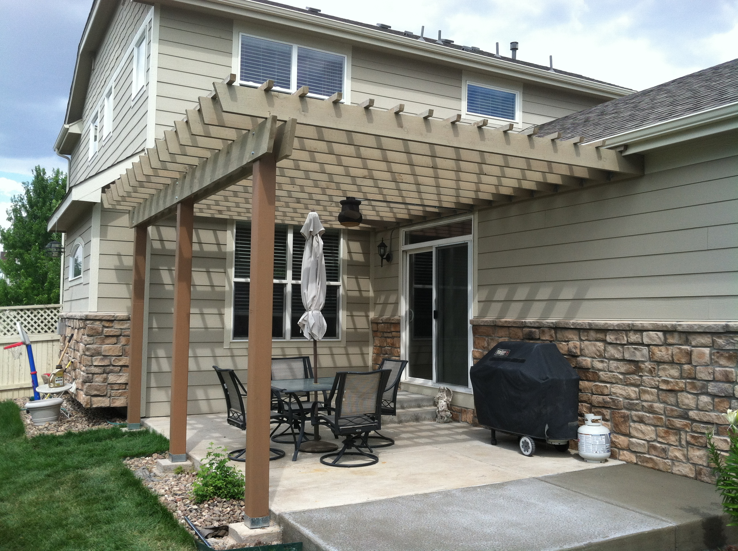 Work superior solutions by design for Patio construction ideas